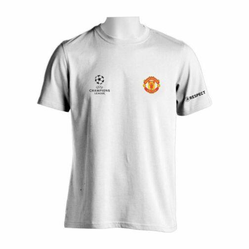 Manchester United Majica U Beloj Boji