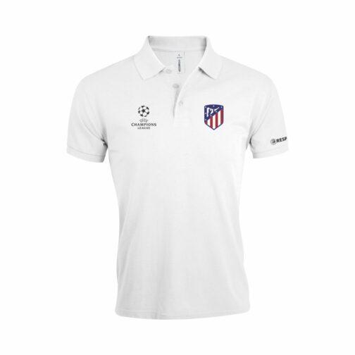 Atletico Madrid Polo Majica U Beloj Boji