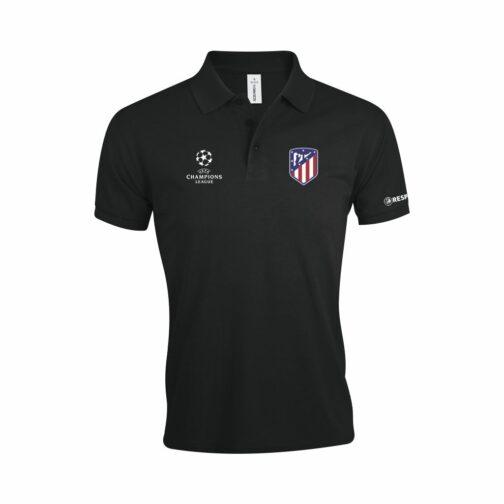 Atletico Madrid Polo Majica U Crnoj Boji