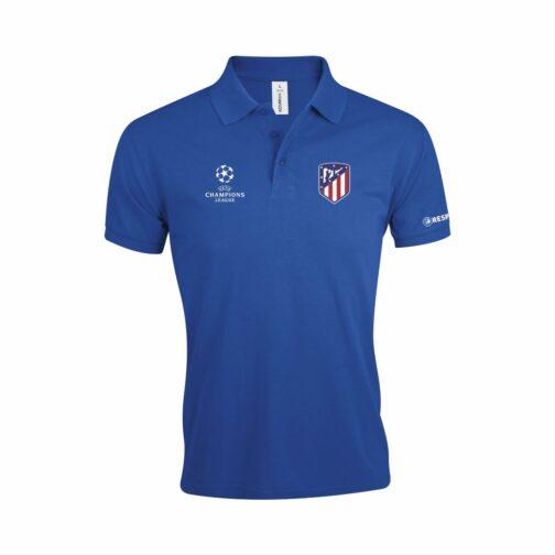 Atletico Madrid Polo Majica U Plavoj Boji