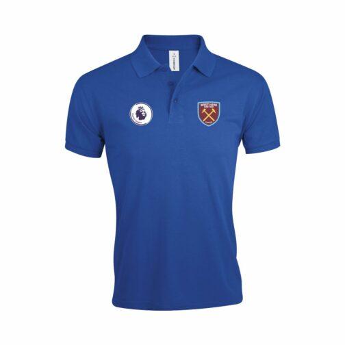 West Ham Polo Majica U Plavoj Boji Sa Grbom Premier Lige