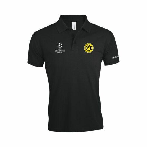 BVB Polo Majica U Crnoj Boji