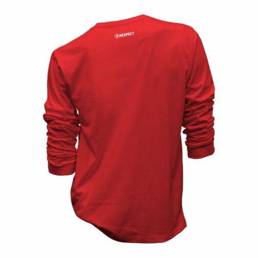 Crveni Sportski Duks Leđa (Respect)
