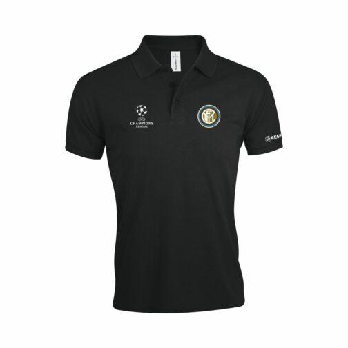 Inter Polo Majica U Crnoj Boji