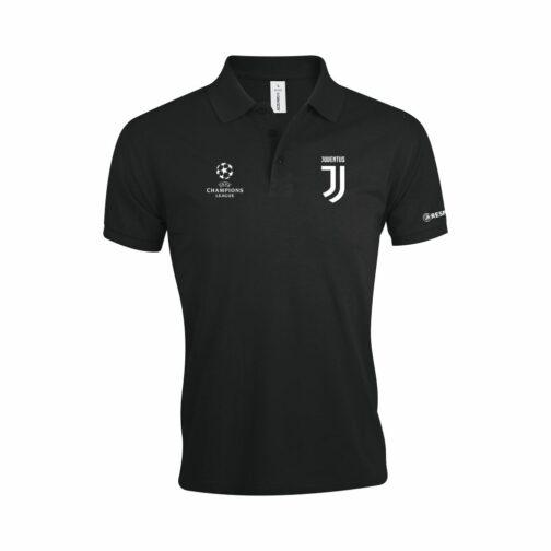 Juventus Polo Majica Crna
