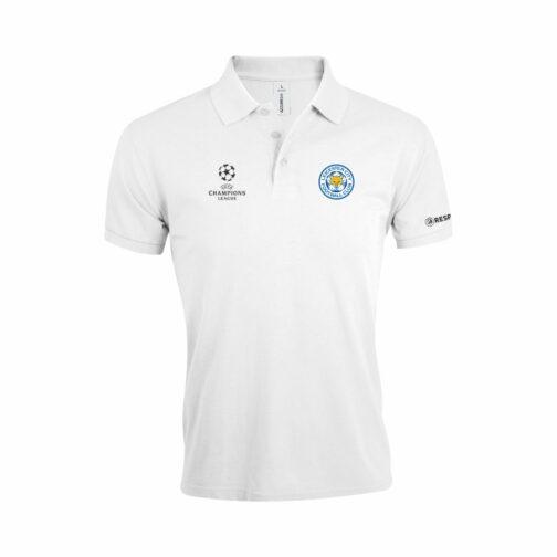 Leicester City Polo Majica U Beloj Boji