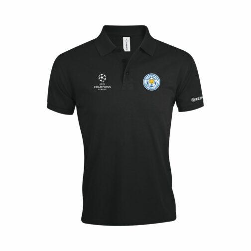 Leicester City Polo Majica U Crnoj Boji