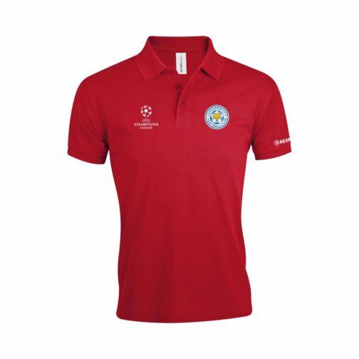 Leicester City Polo Majica U Crvenoj Boji