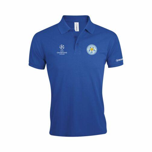 Leicester City Polo Majica U Plavoj Boji