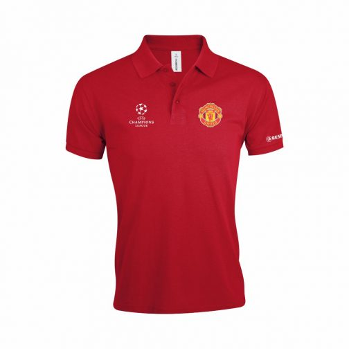 Manchester United Polo Majica U Crvenoj Boji