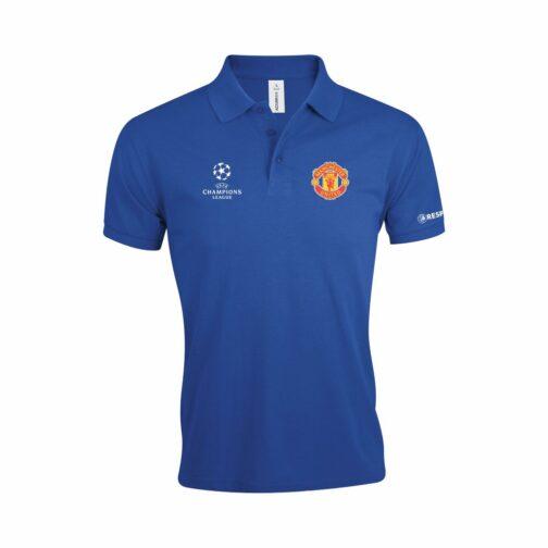 Manchester United Polo Majica U Plavoj Boji