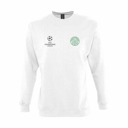 Celtic Dukserica U Beloj Boji
