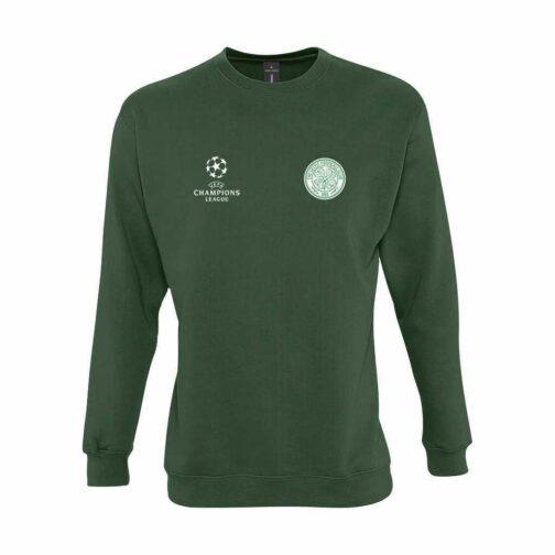Celtic Dukserica U Tamno Zelenoj Boji