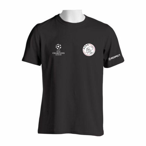 Ajax Majica U Crnoj Boji