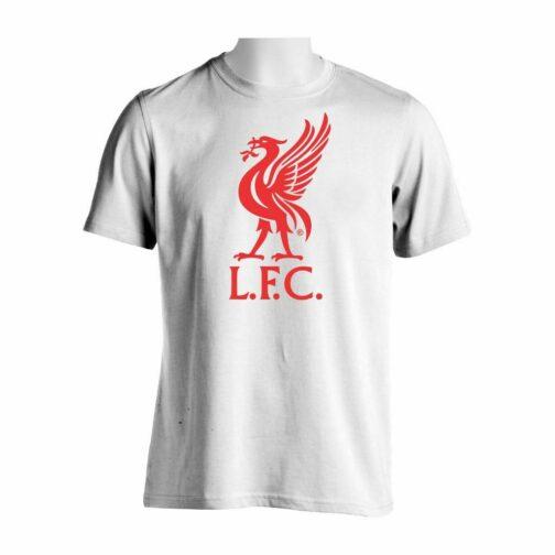 Liverpool Majica Ptica U Beloj Boji