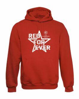 Red For Ever Duks Sa Kapuljačom