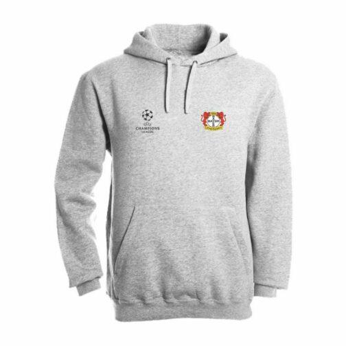 Bayer Leverkusen Duks Sa Kapuljačom (Svetlo Sivi)