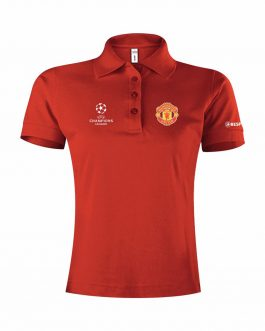 Manchester United Ženska Polo Majica Champions League
