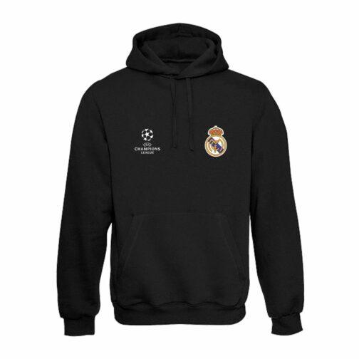 Real Madrid Duks Sa Kapuljačom (Crni)