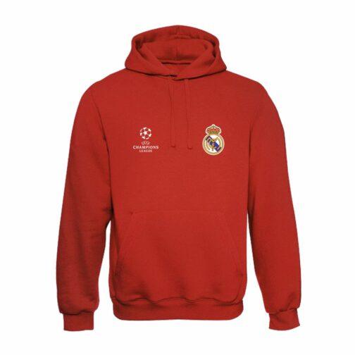 Real Madrid Duks Sa Kapuljačom (Crveni)