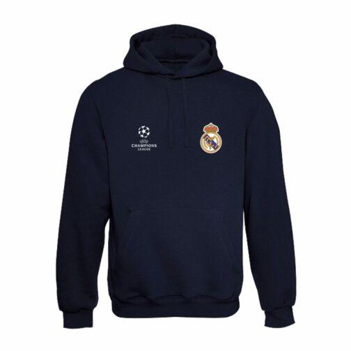 Real Madrid Duks Sa Kapuljačom (Teget)