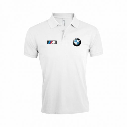 BMW M Power Polo Majica (Bela)