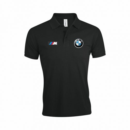 BMW M Power Polo Majica (Crna)