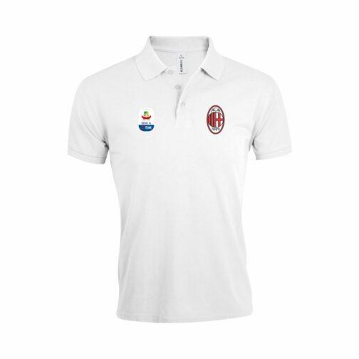 AC Milan Polo Majica (Bela) (Serie A)
