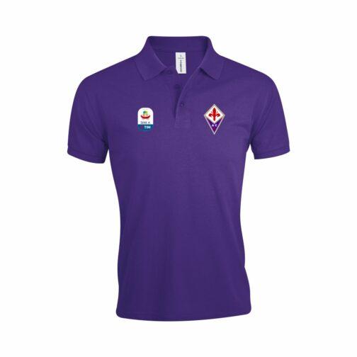 Fiorentina Polo Majica U Ljubičastoj Boji I Sa Serie A Logom