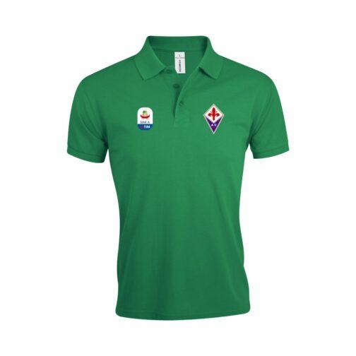 Fiorentina Polo Majica U Zelenoj Boji I Sa Serie A Logom