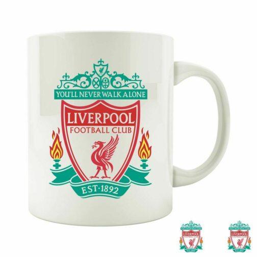 Šolja Sa Grbom Fudbalskog Kluba Liverpool