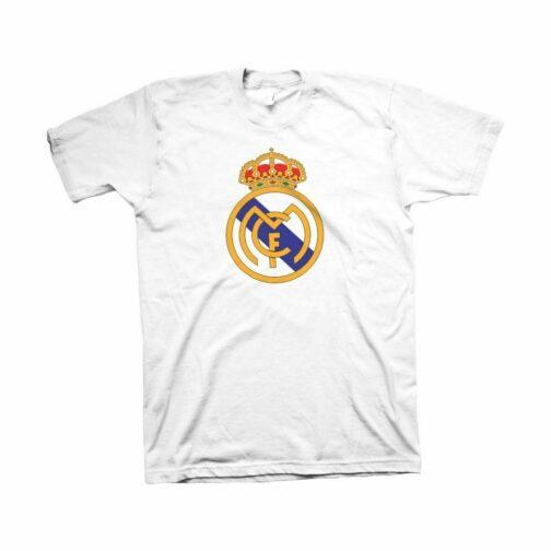 Real Madrid Majica Sa Štampom Veliki Grba Sa Prednje Strane