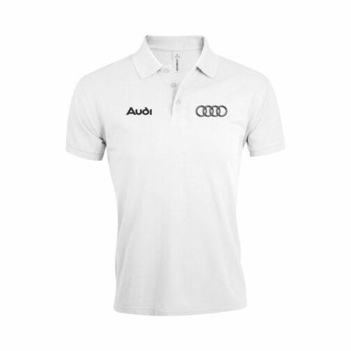 Audi Polo Majica U Beloj Boji