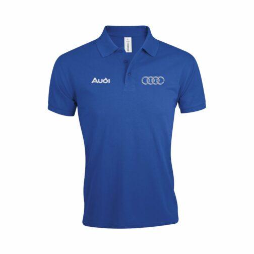 Audi Polo Majica U Plavoj Boji