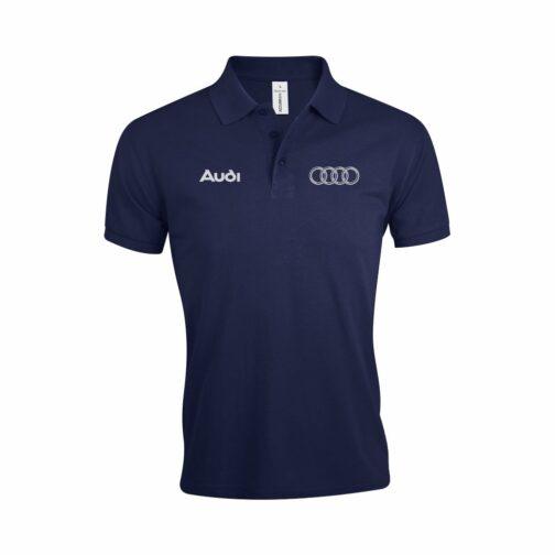 Audi Polo Majica U Teget Boji