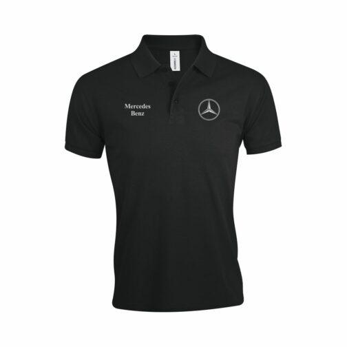 Mercedes Polo Majica U Crnoj Boji