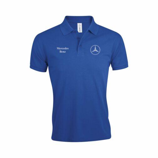 Mercedes Polo Majica U Plavoj Boji