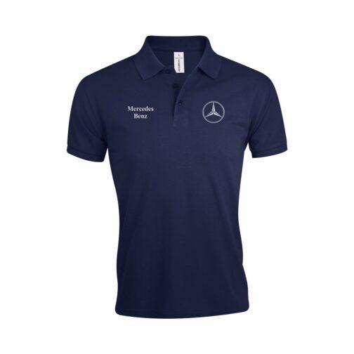 Mercedes Polo Majica U Teget Boji