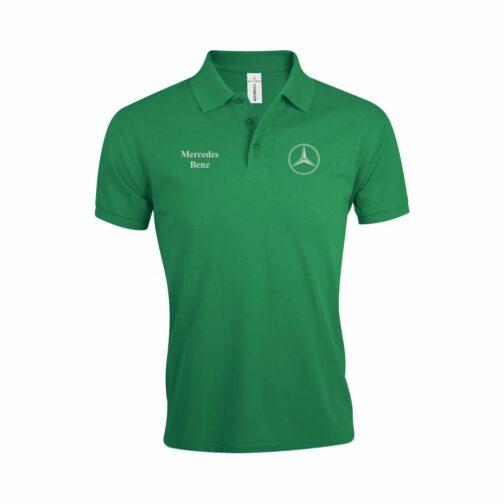 Mercedes Polo Majica U Zelenoj Boji