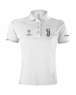 Juventus Ženska Polo Majica Champions League