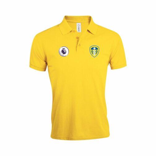 Leeds United Polo Majica U Žutoj Boji I Sa Grbom Premier Lige