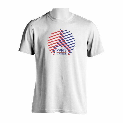 PSG Kula Majica Bele Boje Sa Dvobojnim Printom