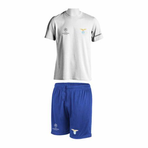 Trening Komplet SS Lazio je oprema za trening koji se sastoji od majice i šorca sa štampom grbova.