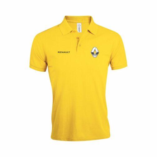 Renault Polo Majica U Žutoj Boji