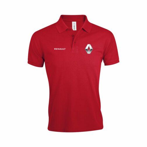 Renault Polo Majica U Crvenoj Boji