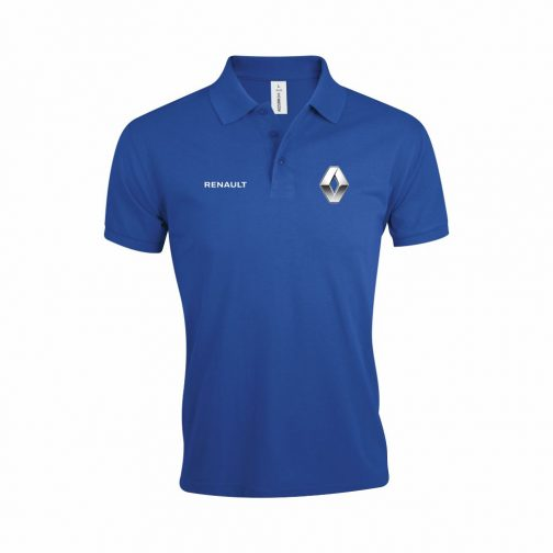 Renault Polo Majica U Plavoj Boji