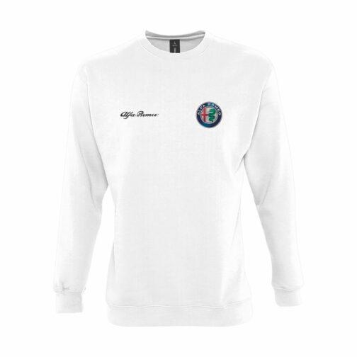 Alfa Romeo Dukserica U Beloj Boji