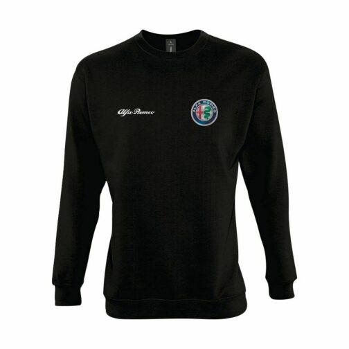 Alfa Romeo Dukserica U Crnoj Boji