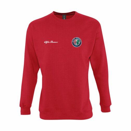 Alfa Romeo Dukserica U Crvenoj Boji