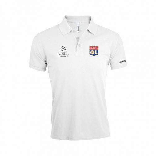 Lyon Polo Majica U Beloj Boji